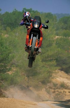 KTM jump big